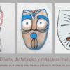 Artes plásticas y Atrezo III-IV 7 Diseño de tatuajes y máscaras inuit copia