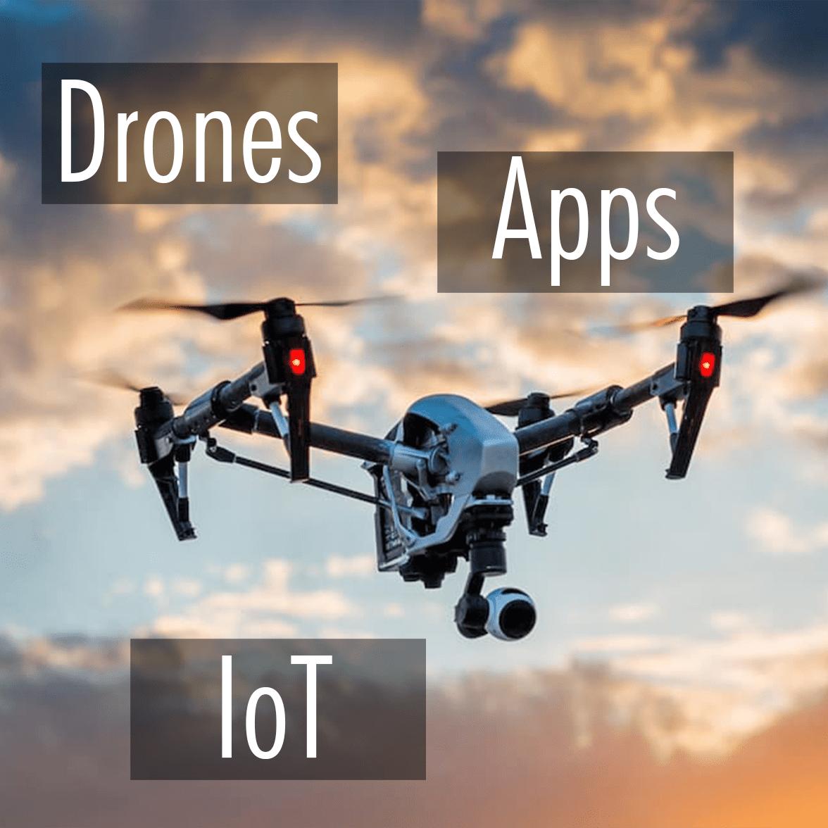 Drones - Apps - Internet de las cosas Portada Drones Apps IoT