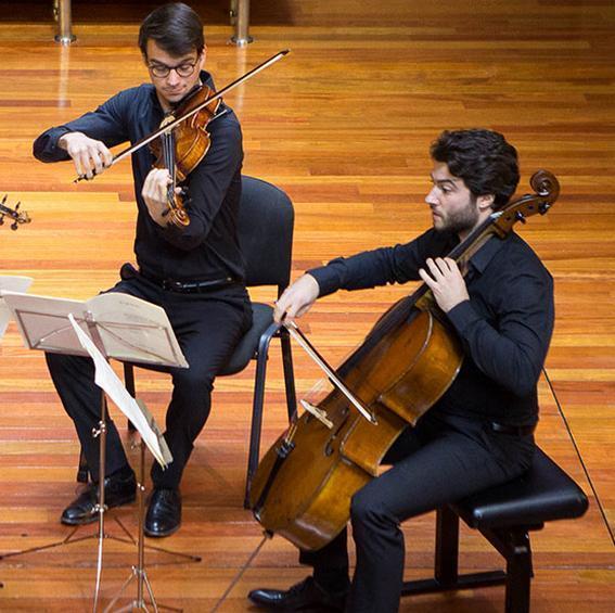Música De Cámara cuartetos de cuerda con el profesor gunter pichler 1