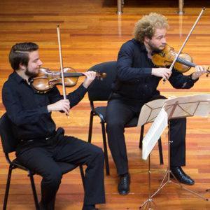 Inicio cuartetos de cuerda con el profesor gunter pichler